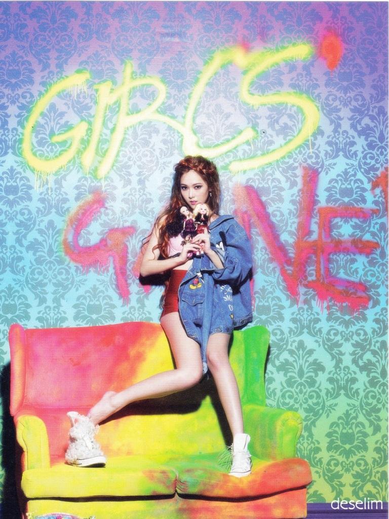Girls' Generation Jessica I Got A Boy Teaser Photo Make-up ...  Girls Generation Jessica I Got A Boy