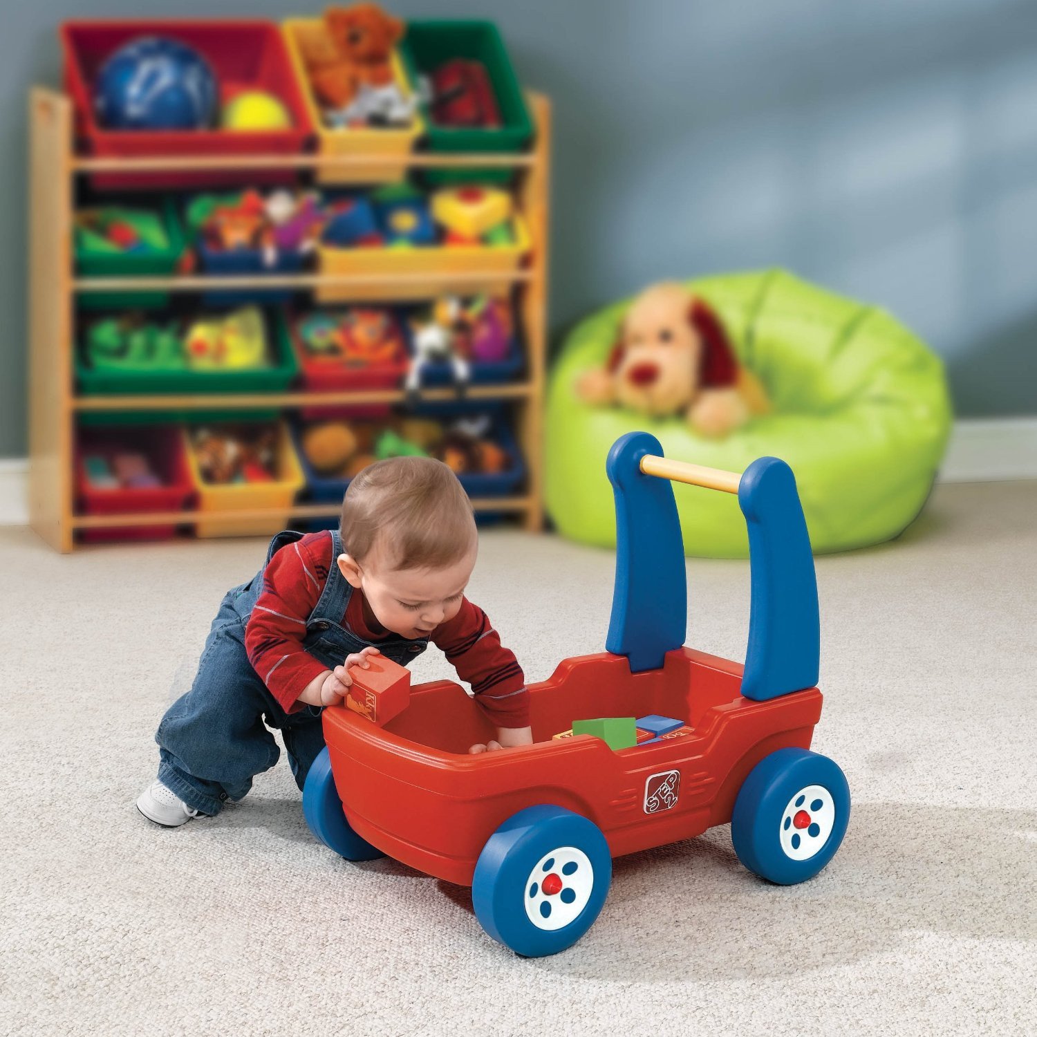 Total Fab Push Toys To Help Baby & Toddlers Walk Independently