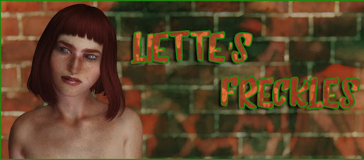 Liette's freckles (face and body retexture for Demonica [Eva])