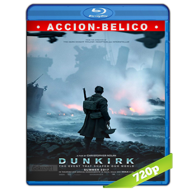 Dunkerque (2017) BRRip 720p Audio Trial Latino-Castellano-Ingles 5.1