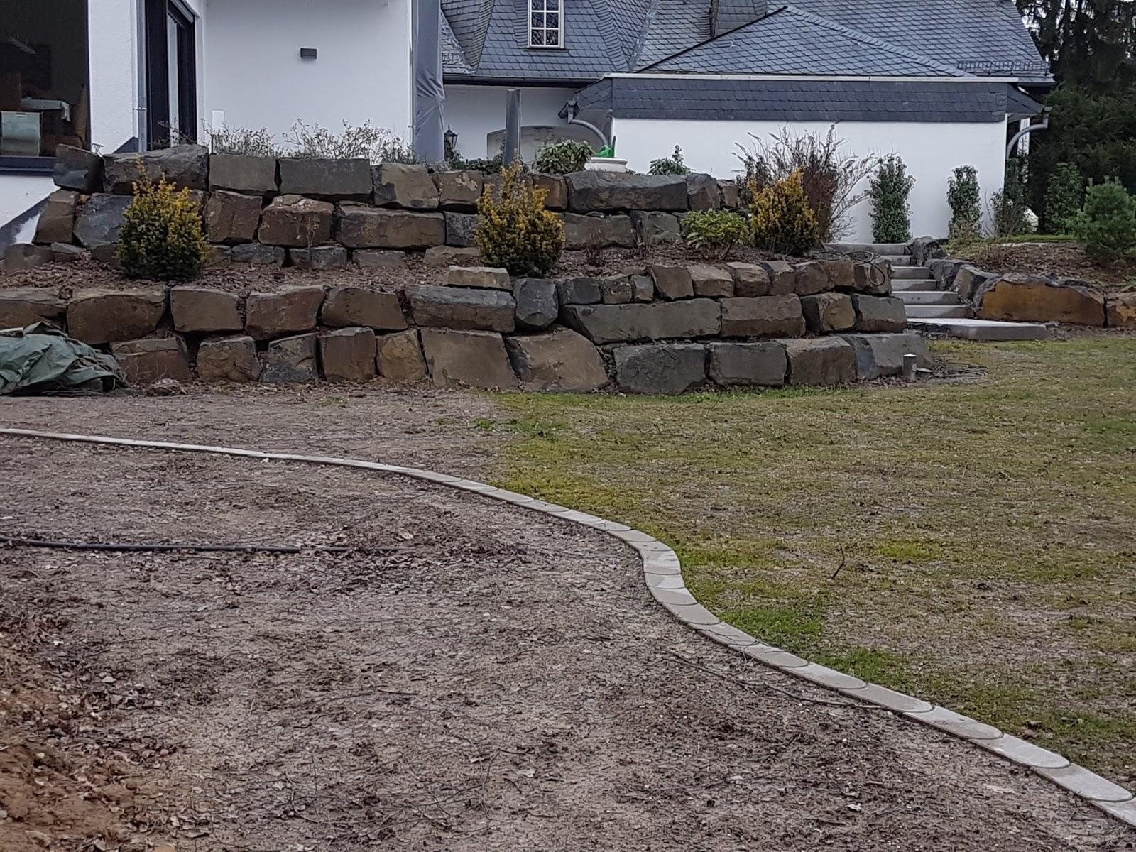 Hangabstützung hausbau mit okal baublog hessen rtk tiefbauer und hangabstützung