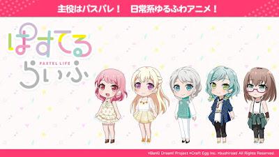 """Anunciado anime para """"Pastel*Palettes"""" de BanG Dream!"""