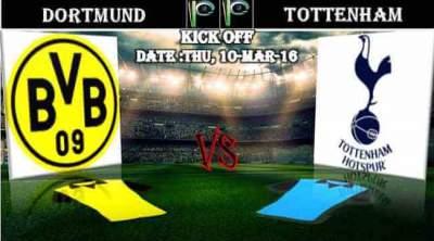 TV listings Dortmund vs Spurs where to watch