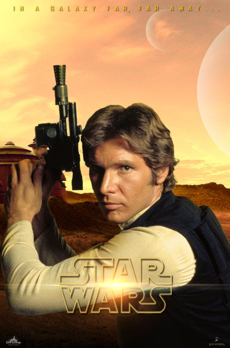 Han Solo Poster - Star Wars: Episode VII