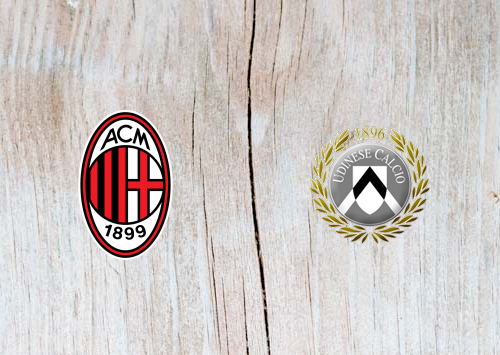 AC Milan vs Udinese Full Match & Highlights 2 April 2019