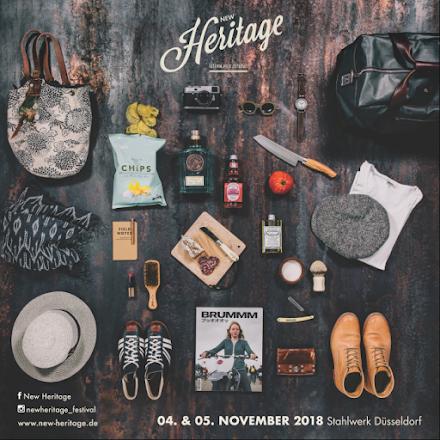 New Heritage | Festival für Zeitloses im Stahlwerk Düsseldorf