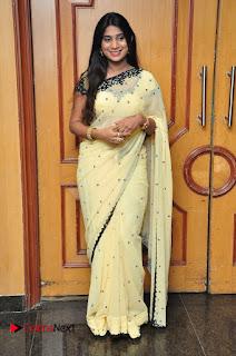 Mithuna Valiya Pictures in Saree at Women Anthem Album Launch