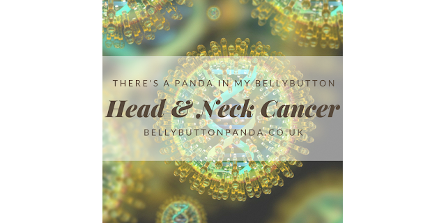 Head and Neck Cancer, NK/T-cell Lymphoma www.bellybuttonpanda.co.uk