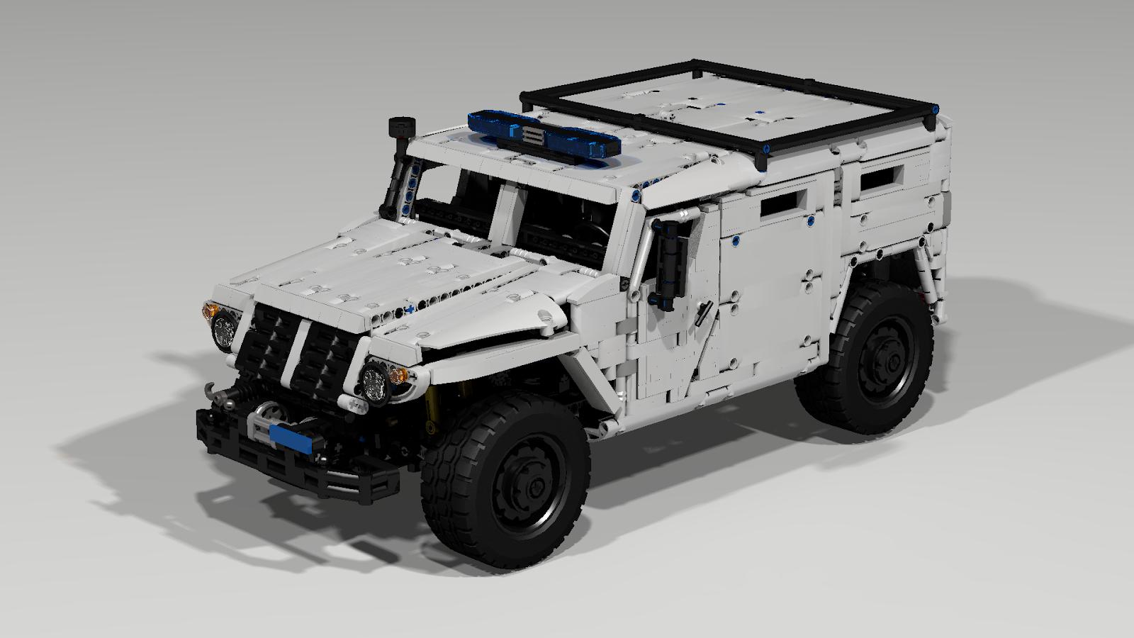 Filsawgood Lego Technic Creations Gaz Tiger Spm 2 Building