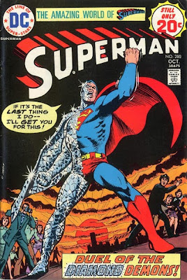 Superman #280, Duel of the Diamond Demons
