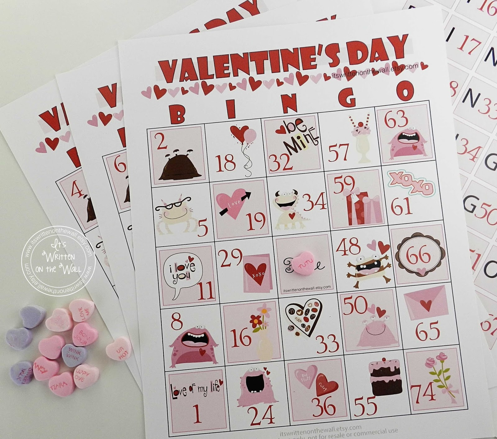 A Valentineu0027s Day Bingo Game For Kids And School Parties! Plus Cute Tags