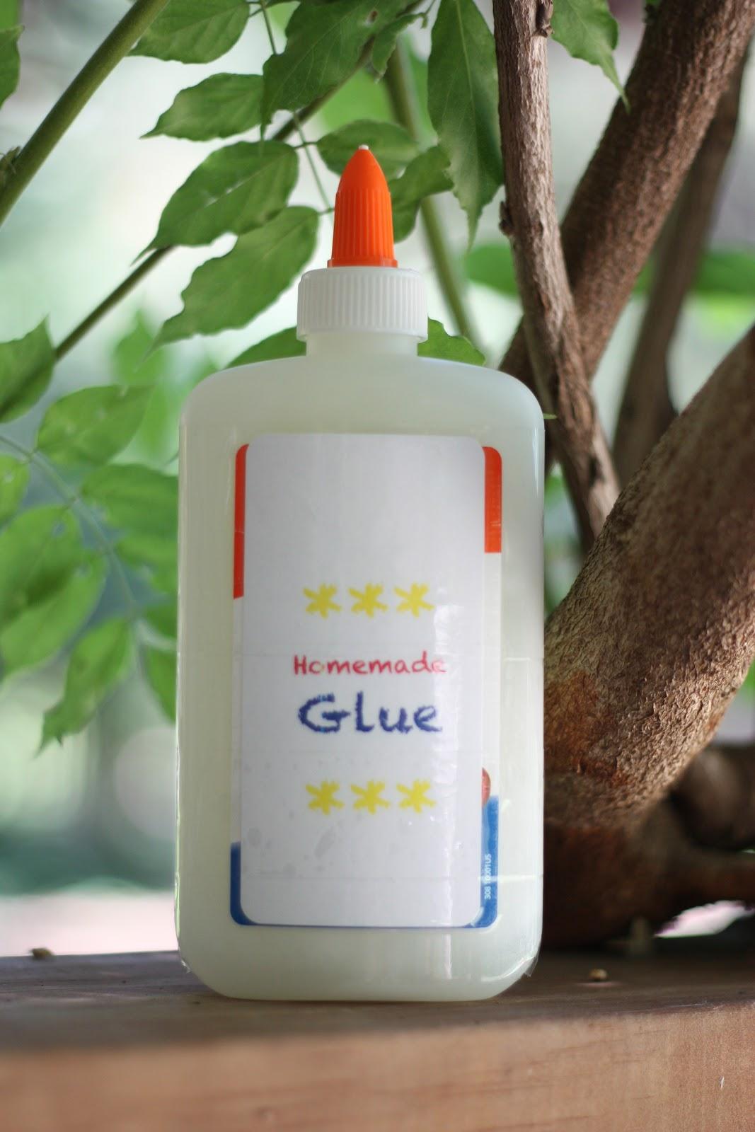 Easy Homemade Glue Recipe For Kids