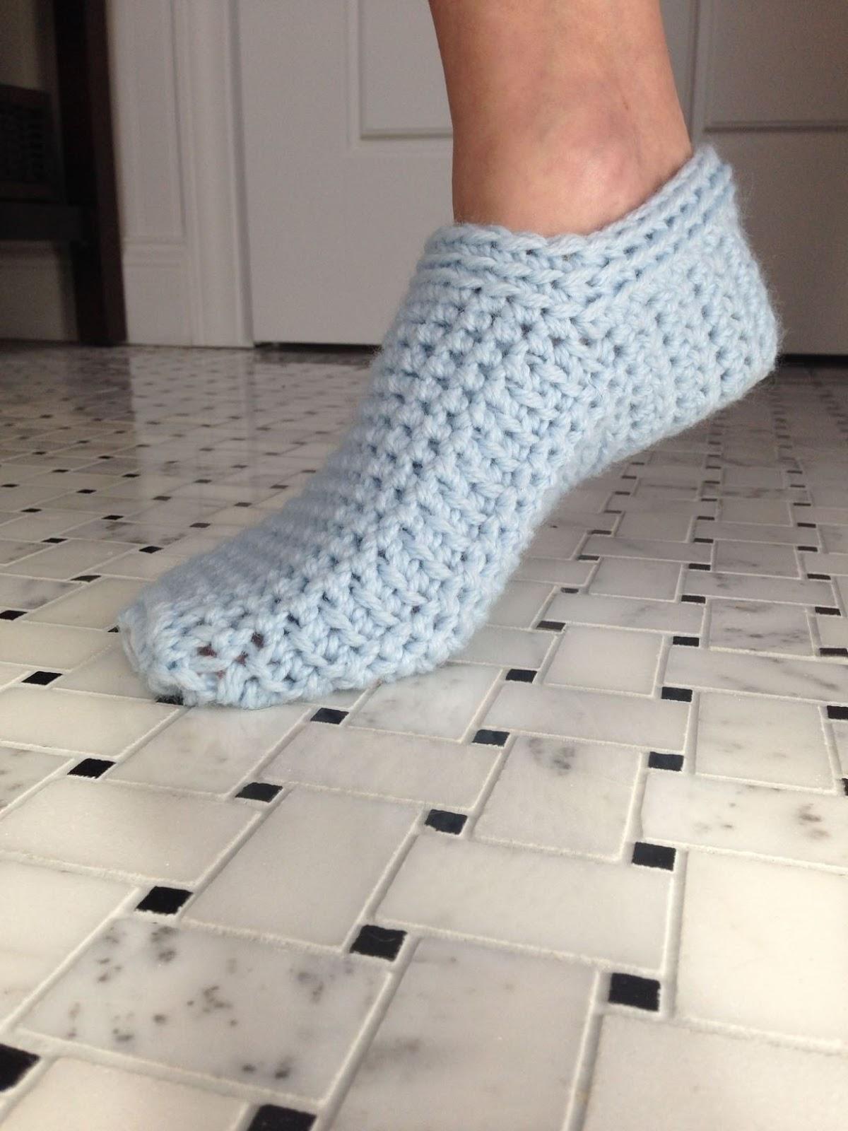 Kriskrafter Free Crochet Pattern Ahh Spa Slippers For Women
