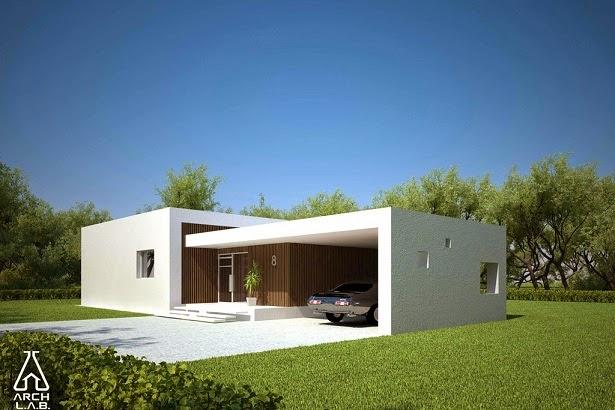 Planos de casas gratis plano moderno de 142 m2 for Casa de una sola planta planos