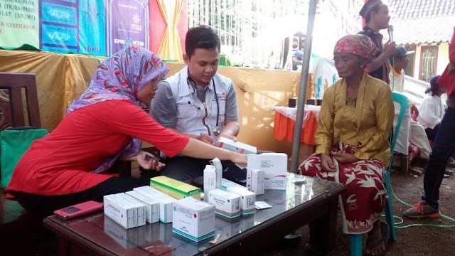 Pemeriksaan Kesehatan kepada kaum dhuafa