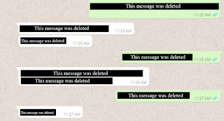 WhatsApp has turns on unsend feature to let you delete Insultive & Abusive messages