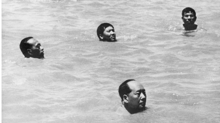 #96 Chairman Mao Swims In The Yangtze, 1966 - Top 100 Of The Most Influential Photos Of All Time