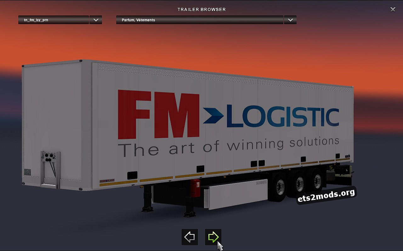 Standalone FM Logistic Trailer by PRN_FR ETS-Modding