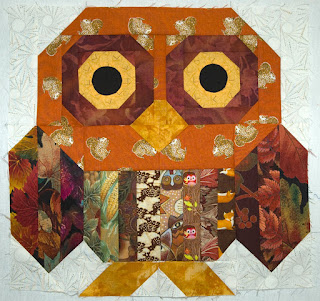 Quilt Inspiration: Free Pattern Day: Owls