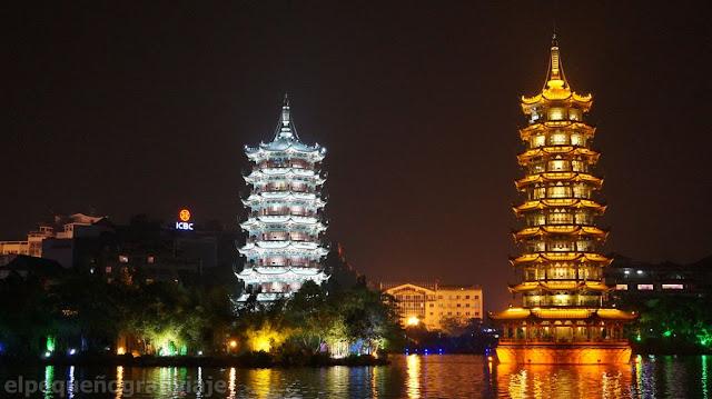 Guilin, china, paseo, promedio diario de gasto, atractivos, templo del sol y la luna