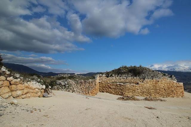 ancient citadel Kastritsa ioannina Video