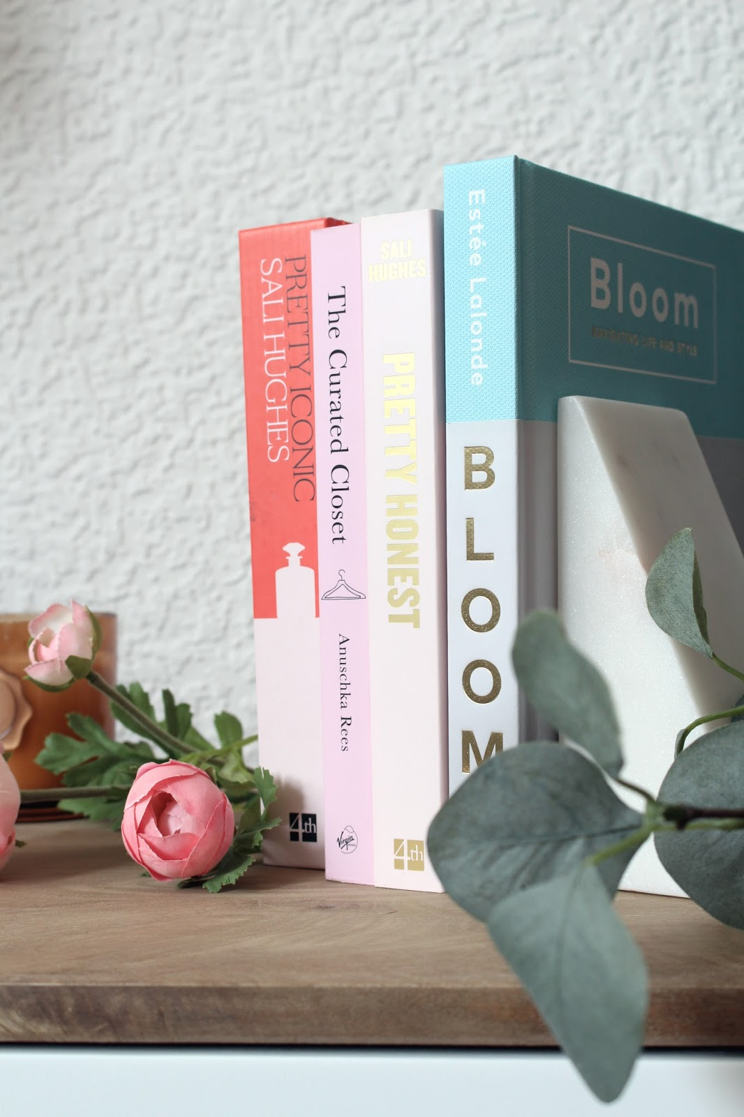 Some of my favourite books from my growing cliche blogger library