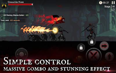 Shadow of Death: Dark Knight v1.22.0.0 Mod Apk Terbaru (Unlimited Crystal and Skull)  Offline