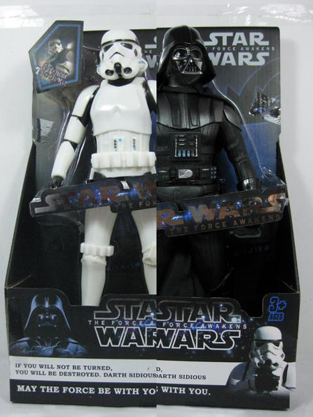 Jual Action Figure Star Wars Force Awakens : Dart Vader  Clone Trooper