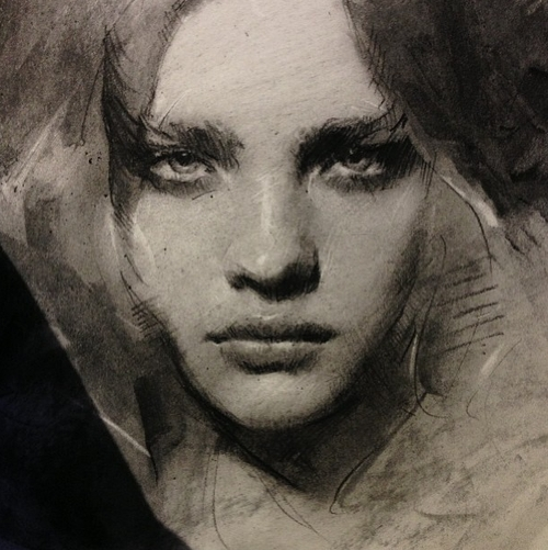 07-Casey-Baugh-Portrait-Drawings-of-Charcoal-Studies-www-designstack-co