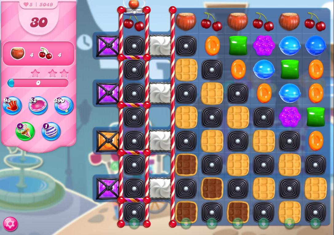 Candy Crush Saga level 5049