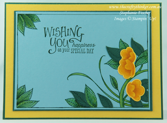 #thecraftythinker  #stampinup  #serenegardenbundle , Serene Garden Bundle, Better Together, Stampin' Up Australia Demonstrator, Stephanie Fischer, Sydney NSW