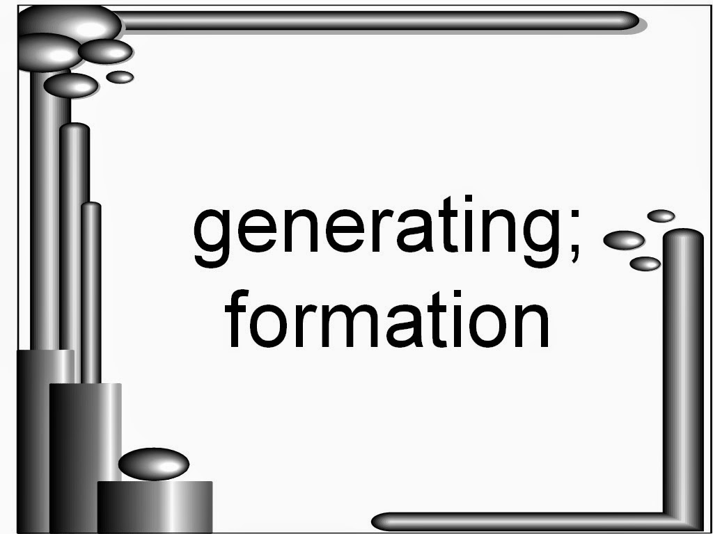 generate meaning