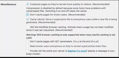 Guide to Effective Wordpress Caching 2018
