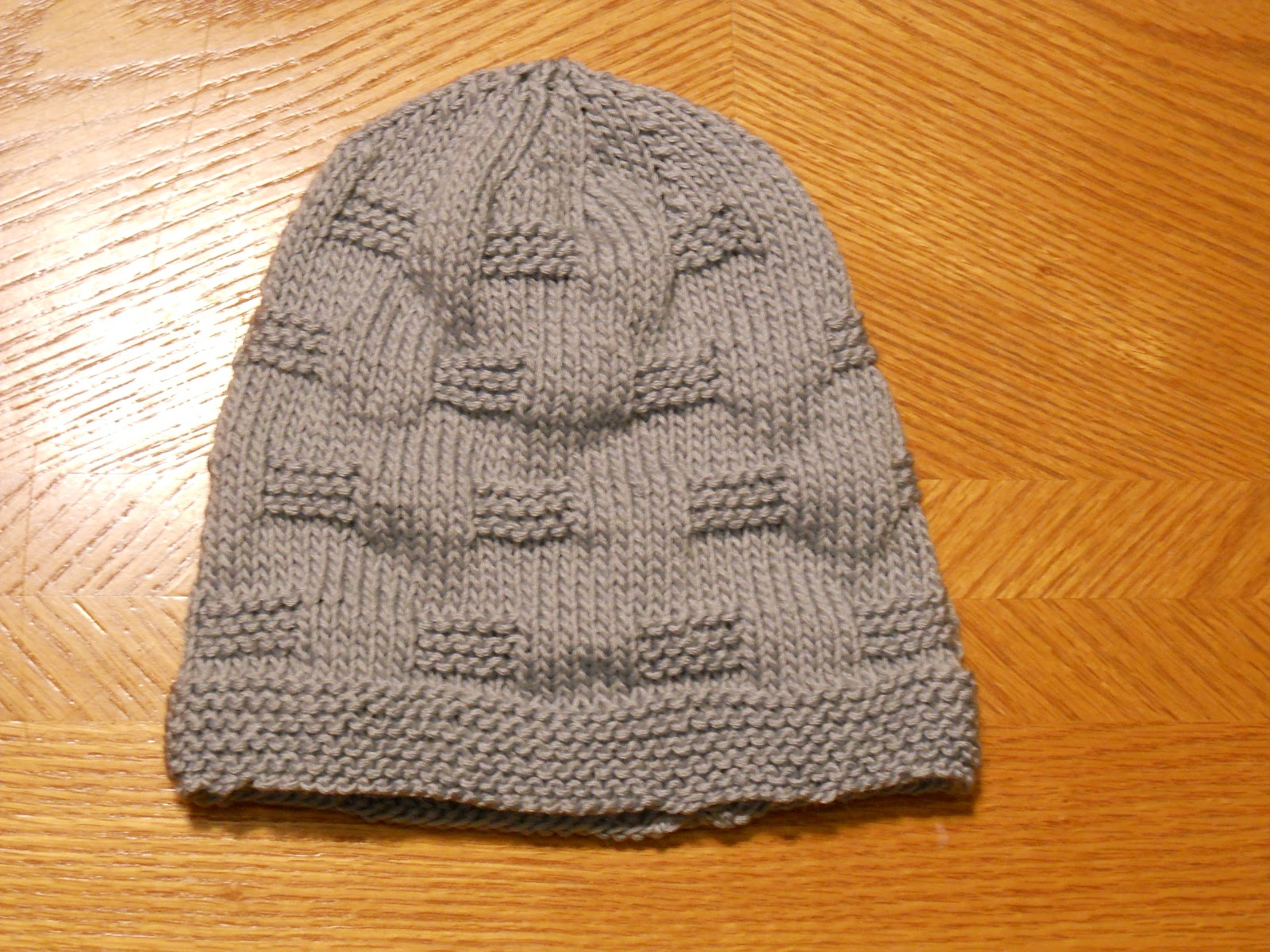 Knitting with Schnapps  The Cozy Cobblestone Cap! 77efd477217