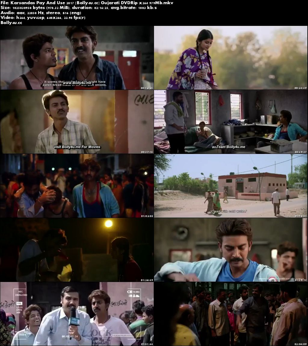 Karsandas Pay And Use 2017 DVDRip 400MB Gujarati 480p Download