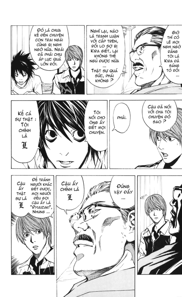 Death Note chapter 022 trang 7