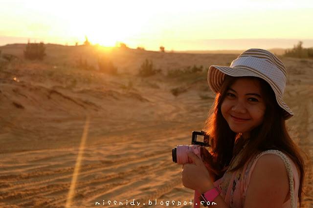 sunrise di mui ne white sand dunes