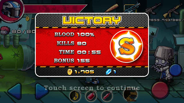 cheat zombie diary unlimited money and gems