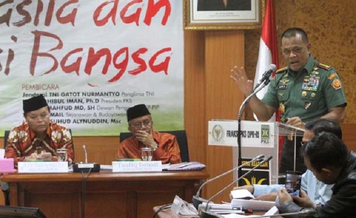 Panglima TNI dan PKS