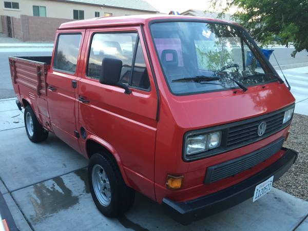 1988 VW Vanagon Doka For Sale | vw bus wagon