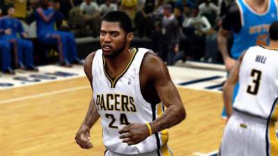 NBA 2K13 Paul George Realistic Best Cyber Face Mods