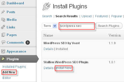 Search and Install a WordPress Plugin from Dashboard