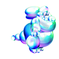 Soap Bubble Dragon
