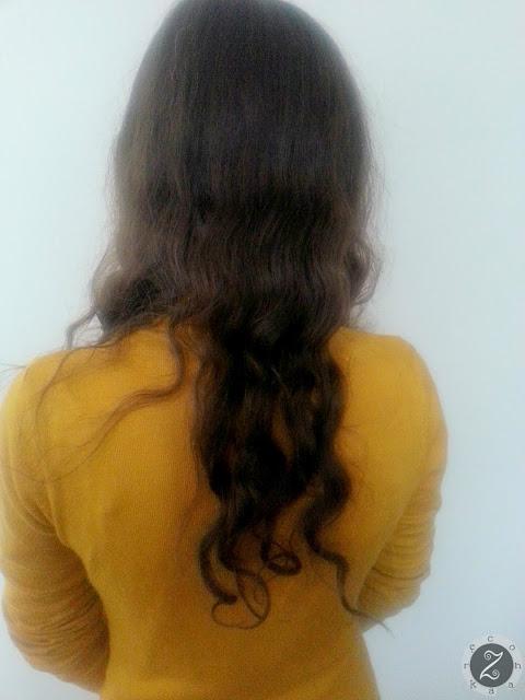 włosy przed dopięciem włosów