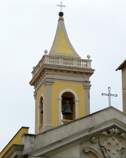 Belltower, church of the Madonna, Via della Madonna, Livorno