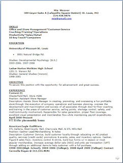 assistant store manager resume building format in word free download - Assistant Store Manager Resume