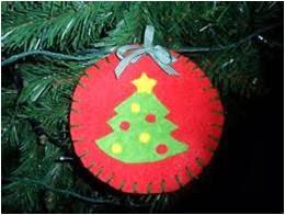 Adornos para el árbol de navidad, adornos bonitos para el arbol de navidad, como hacer adornos para el árbol de navidad, adornos navideños con fieltro, adornos de navidad con fieltro, adornos de navidad para niños de primaria