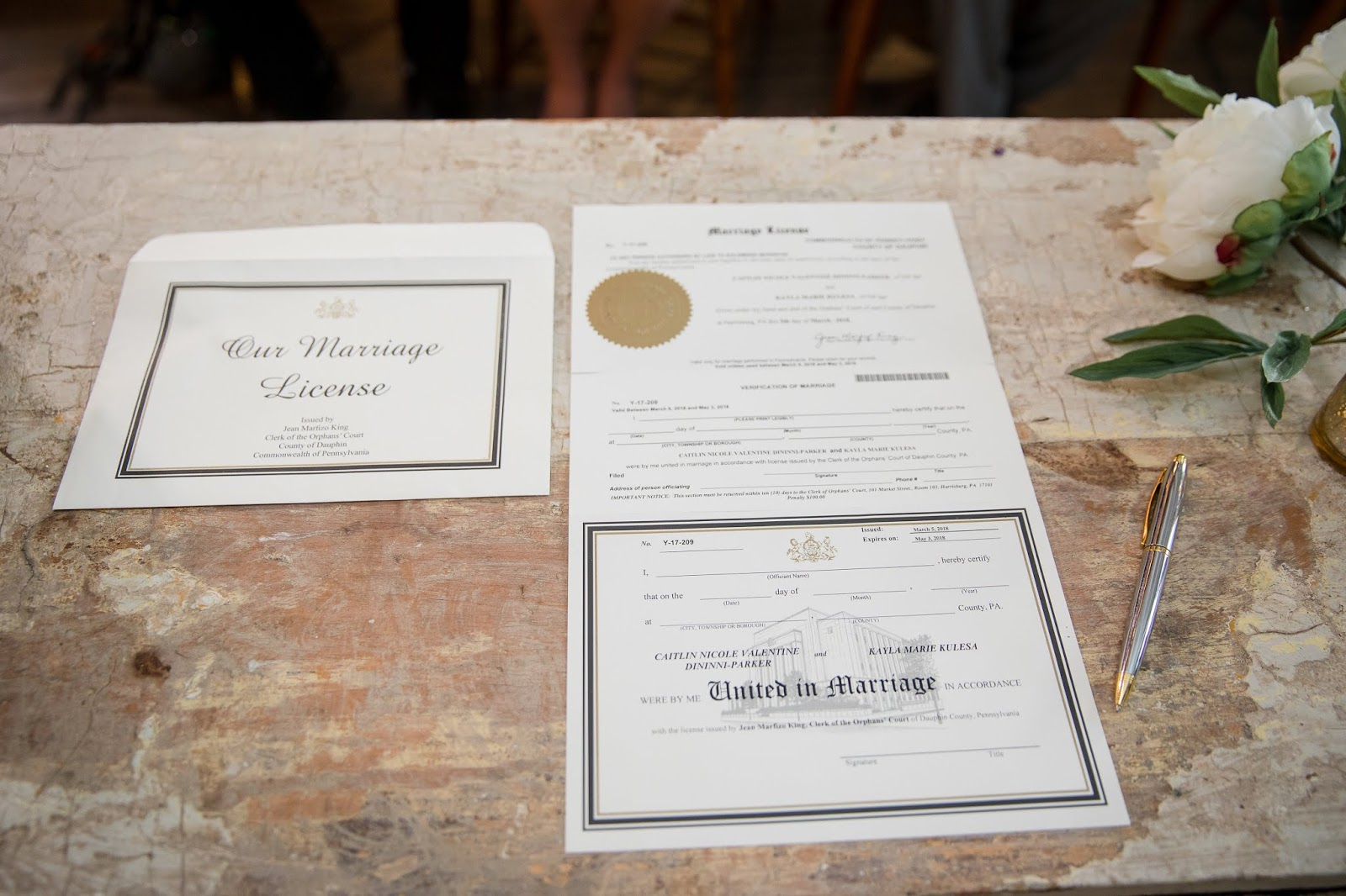 More About Marriage Licenses