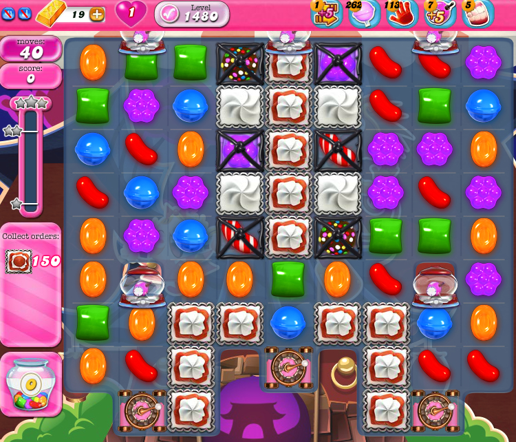 Candy Crush Saga 1480