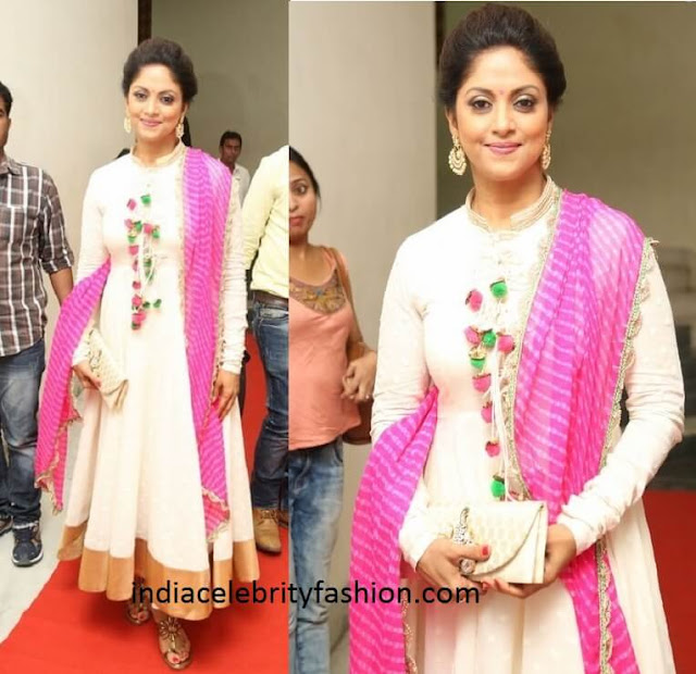 Nadhiya in Anarkali at A aa Audio Launch